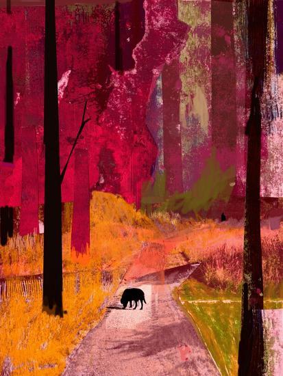 Black Dog, 2013-David McConochie-Giclee Print
