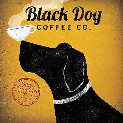 Black Dog Coffee Co.-Ryan Fowler-Art Print