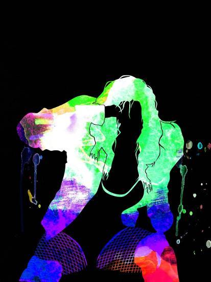 Black Eyed Peas Watercolor-Lana Feldman-Art Print