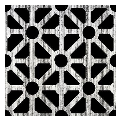 Black Fence 2-Victoria Brown-Art Print