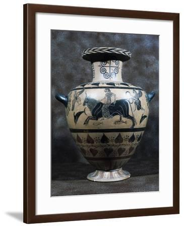 Black-Figure Hydria, Ancient Greece, 5th-4th Century BC--Framed Giclee Print