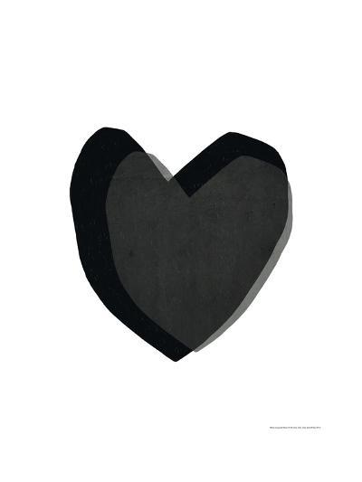 Black Heart-Seventy Tree-Art Print