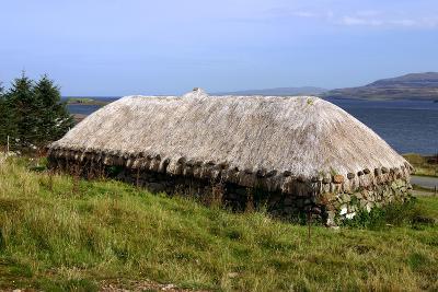 Black House, Colbost Folk Museum, Skye, Highland, Scotland-Peter Thompson-Photographic Print