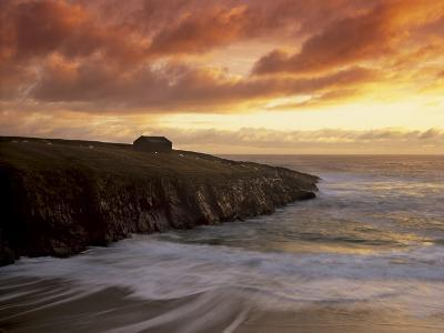 Black House Village, Restored, Garenin, Isle of Lewis, Outer Hebrides, Scotland, UK-Patrick Dieudonne-Photographic Print