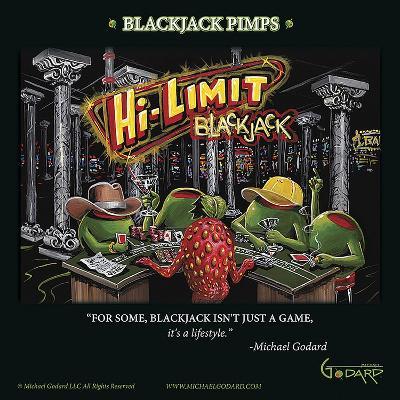 Black Jack Pimps-Michael Godard-Art Print