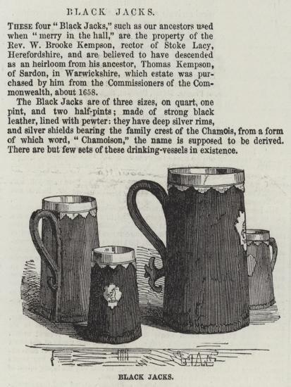 Black Jacks--Giclee Print
