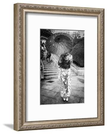 Black Japan Collection - Geisha Story-Philippe Hugonnard-Framed Photographic Print