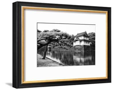Black Japan Collection - Imperial Palace-Philippe Hugonnard-Framed Photographic Print
