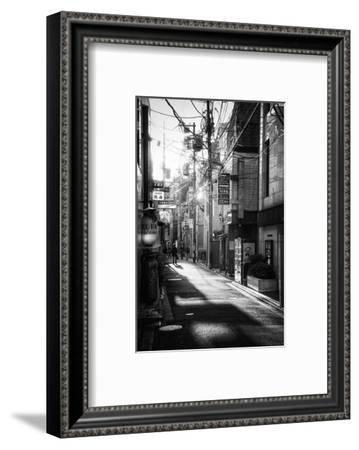 Black Japan Collection - Kyoto Street Scene I-Philippe Hugonnard-Framed Photographic Print