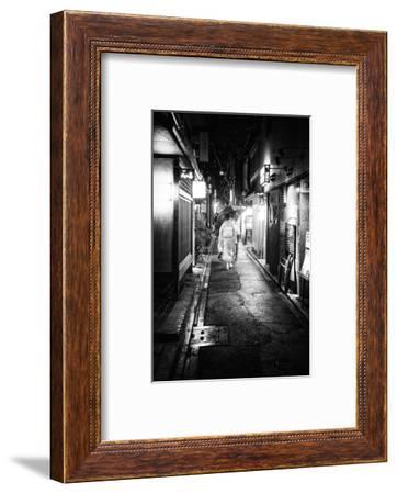 Black Japan Collection - Narrow Street-Philippe Hugonnard-Framed Photographic Print