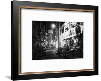 Black Japan Collection - Night Street Scene III-Philippe Hugonnard-Framed Photographic Print