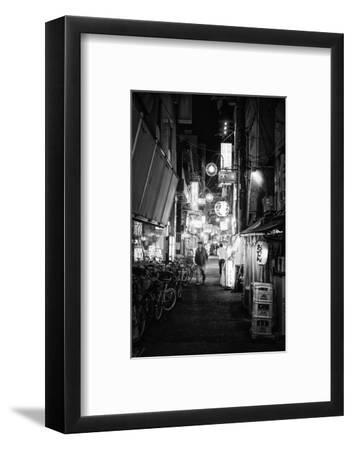 Black Japan Collection - Night Street Scene V-Philippe Hugonnard-Framed Photographic Print
