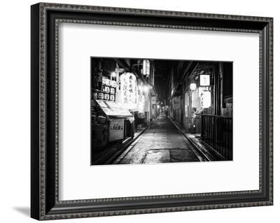 Black Japan Collection - Perspective-Philippe Hugonnard-Framed Photographic Print