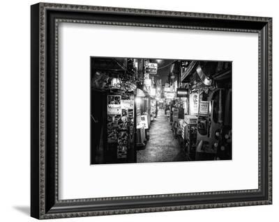 Black Japan Collection - Shinjuku Golden Gai III-Philippe Hugonnard-Framed Photographic Print