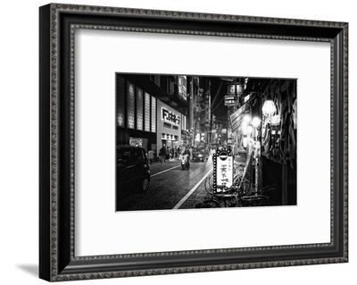 Black Japan Collection - Street Scene Hiroshima I-Philippe Hugonnard-Framed Photographic Print