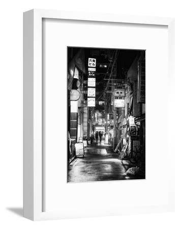 Black Japan Collection - Street Scene I-Philippe Hugonnard-Framed Photographic Print
