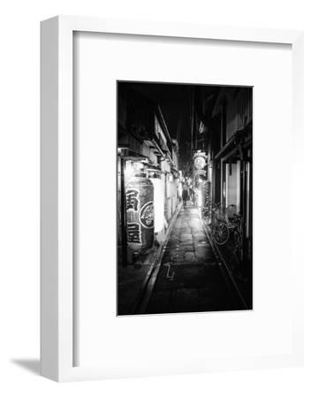 Black Japan Collection - Street Scene Kyoto-Philippe Hugonnard-Framed Photographic Print