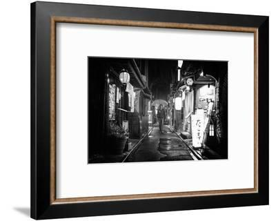 Black Japan Collection - Under the rain-Philippe Hugonnard-Framed Photographic Print