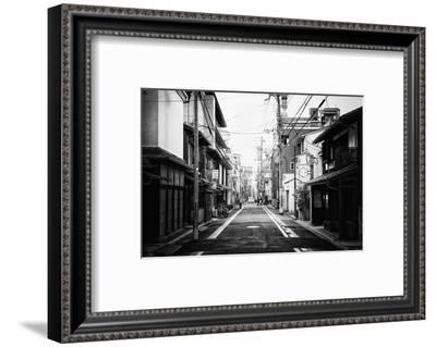 Black Japan Collection - Urban Scene-Philippe Hugonnard-Framed Photographic Print