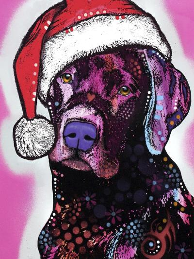 Black Lab Christmas-Dean Russo-Giclee Print