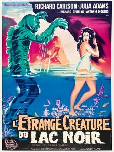"""Black Lagoon, 1954, """"Creature From the Black Lagoon"""" Directed by Jack Arnold"""