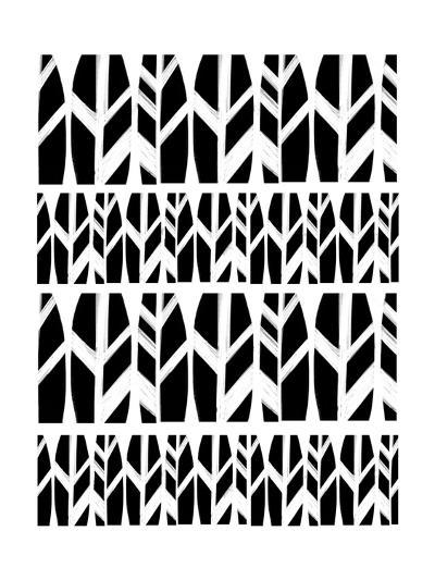 Black Leaves-Melanie Biehle-Premium Giclee Print