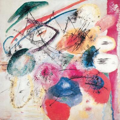 Black Lines-Wassily Kandinsky-Giclee Print