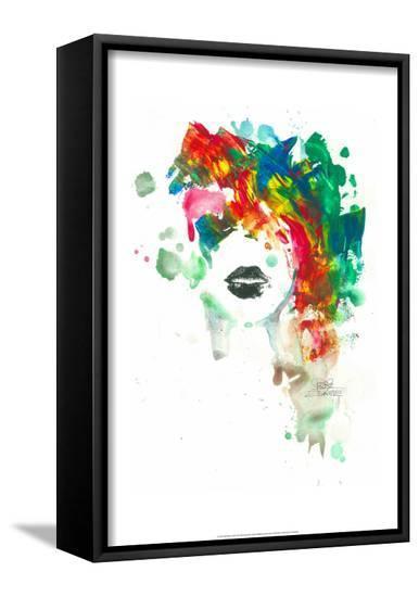 Black Lips-Lora Zombie-Framed Canvas Print
