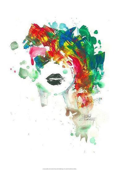 Black Lips-Lora Zombie-Art Print