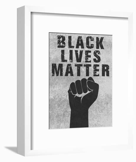 Black Lives Matter-Marcus Prime-Framed Art Print