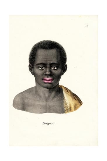 Black Man, 1824-Karl Joseph Brodtmann-Giclee Print
