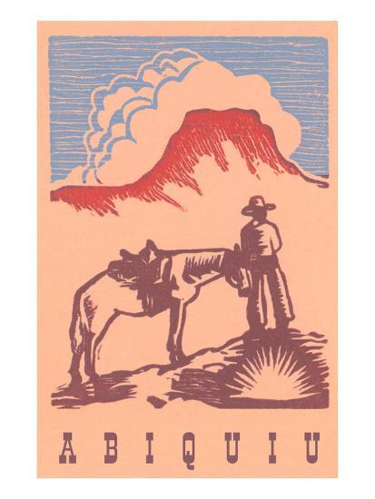 Black Mesa, Abiquiu, New Mexico--Art Print
