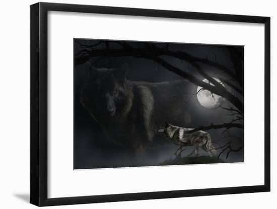 Black Moon-Gordon Semmens-Framed Photographic Print