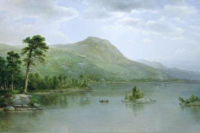 Black Mountain from the Harbor Islands, Lake George, New York, 1875-Asher Brown Durand-Giclee Print