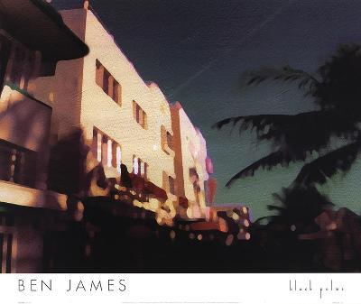 Black Palms-Ben James-Art Print