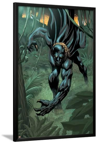 Black Panther 2099 No.1 Cover: Black Panther-Pat Lee-Lamina Framed Poster