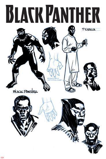 Black Panther No. 1 Cover Art-Brian Stelfreeze-Art Print