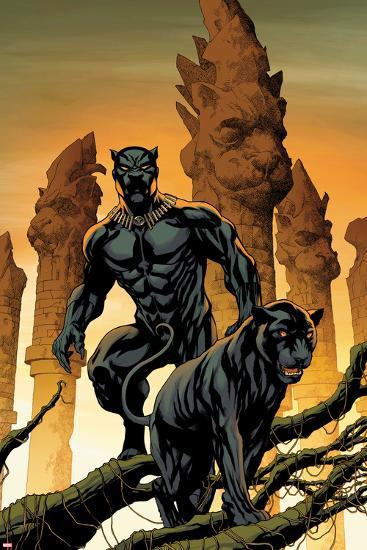 Black Panther No. 1 Cover Art-Mike McKone-Art Print
