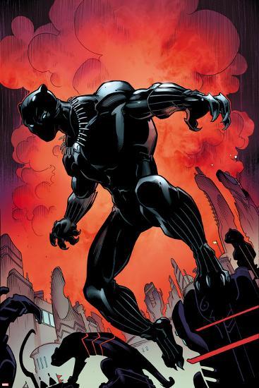 Black Panther No. 1 Cover Art-Larry Stroman-Art Print