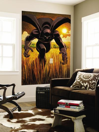 Black Panther No.1 Cover: Black Panther-John Romita Jr^-Wall Mural