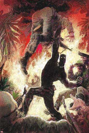 Black Panther No. 3 Cover Art-Kyle Baker-Art Print