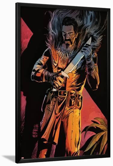 Black Panther: The Man Without Fear No.518: Kraven The Hunter-Francesco Francavilla-Lamina Framed Poster