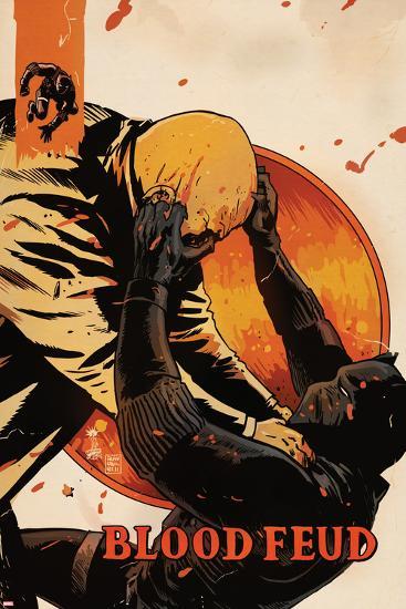 Black Panther: The Most Dangerous Man Alive No.528: Black Panther Fighting-Francesco Francavilla-Art Print