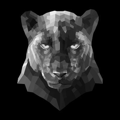 Black Panther-Lisa Kroll-Art Print
