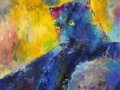 Black Panther-Richard Wallich-Giclee Print