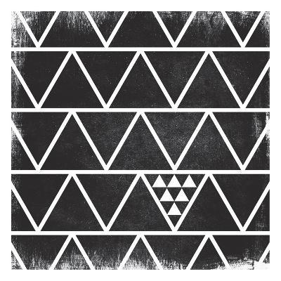 Black Pattern-Gigi Louise-Art Print