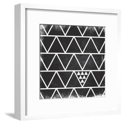 Black Pattern-Gigi Louise-Framed Art Print