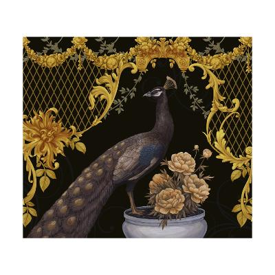 Black Peacock-Maria Rytova-Giclee Print
