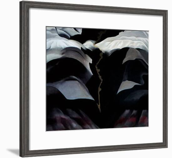 Black Place no. 3-Georgia O'Keeffe-Framed Art Print