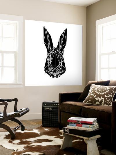 Black Rabbit-Lisa Kroll-Wall Mural